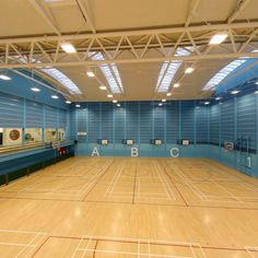 Basket, Tennis, Badminton Hall