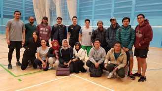 Badminton rutin