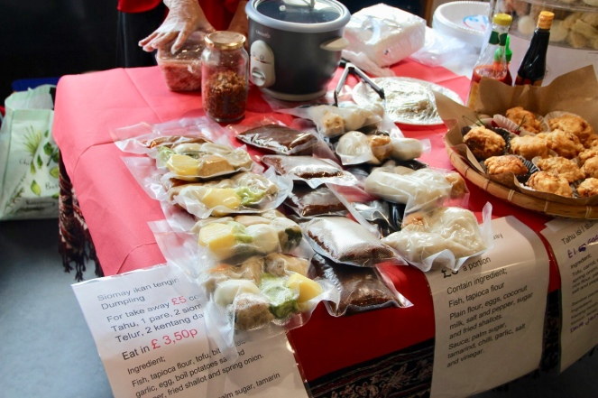 Beberapa booth makanan #17anseScotland