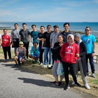 Jogging participants
