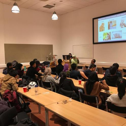 Sharing Session 1: How to survive your study and live in Aberdeen